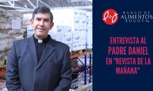 Entrevista Padre Daniel Saldarriaga