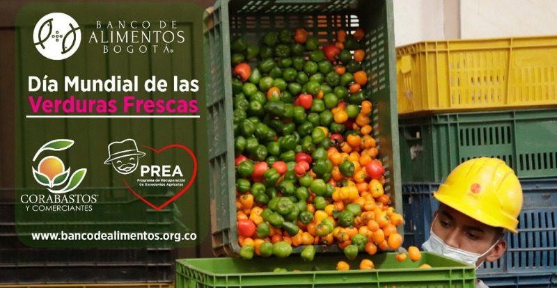 Dia mundial de las verduras frescas